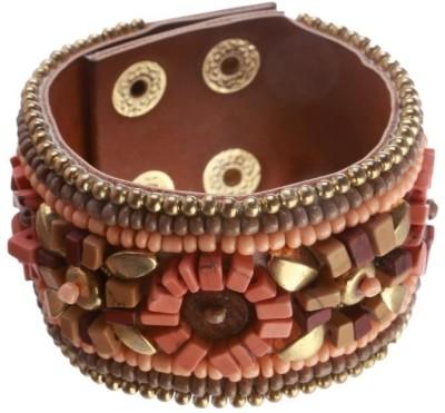 Blueberry Leather Bracelet
