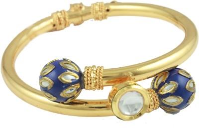The Art Jewellery Alloy Yellow Gold Kada