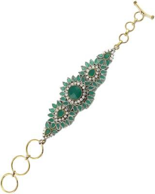 The Art Jewellery Brass Black Silver Bracelet