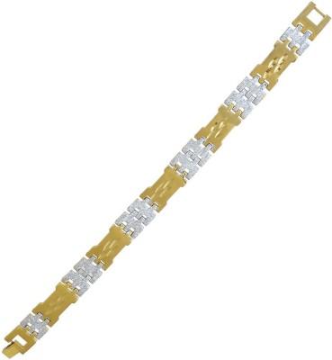 Memoir Brass 24K Yellow Gold Bracelet