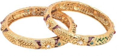 Vihana Arts Alloy Bangle Set(Pack of 2)