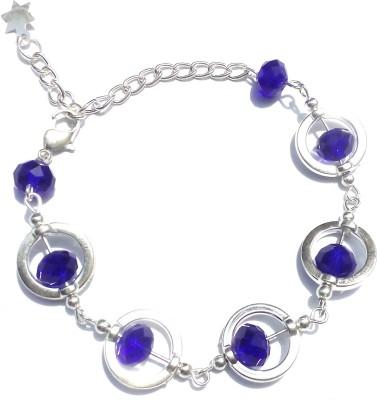 Uma Alloy Crystal Bracelet