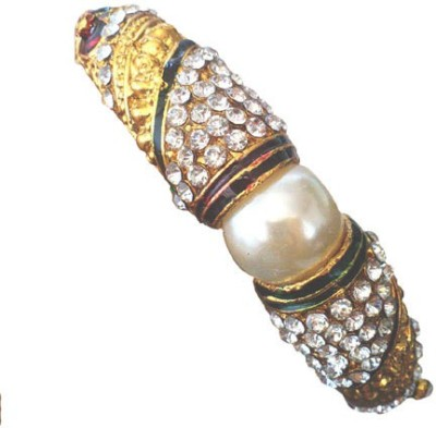 Charming Jewels Alloy Yellow Gold Kada
