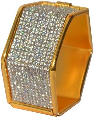 Pourni Alloy Yellow Gold Kada