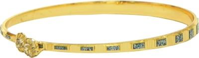 Glamche Alloy Cubic Zirconia Yellow Gold Bracelet