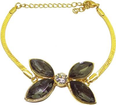 Trisha Alloy 24K Yellow Gold Bracelet