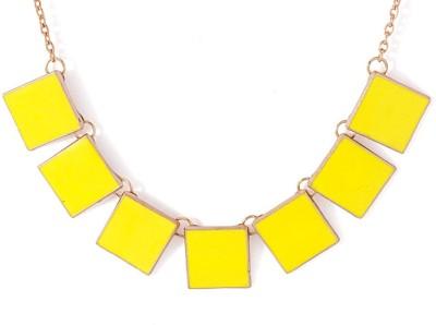Voylla Alloy Yellow Gold Bracelet
