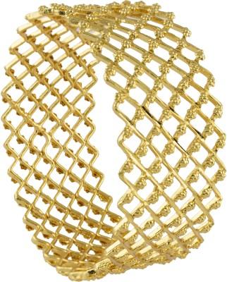 R18Jewels-Fashion&U Metal Yellow Gold Bangle