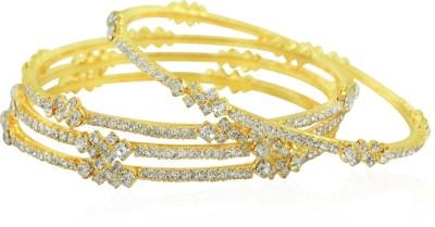 BoBell Alloy Diamond Yellow Gold Bangle Set