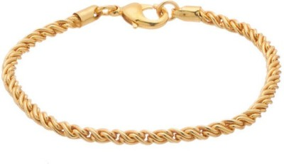 Gemshop Alloy Yellow Gold Bracelet