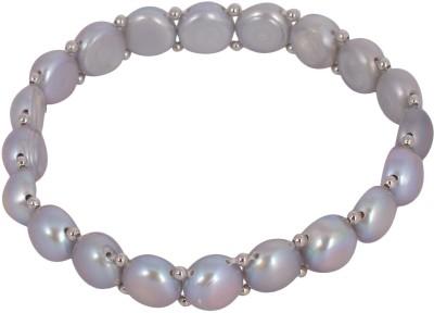 Jay Mataji Jewels Fabric Pearl Bracelet