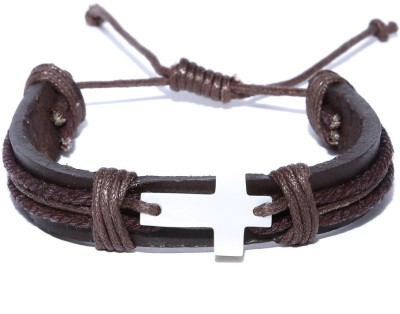 ToniQ Fabric, Leather, Plastic Bracelet