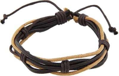 Young & Forever Leather, Alloy Bracelet