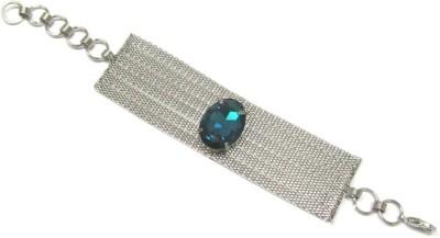 Antariksh Alloy Silver Bracelet