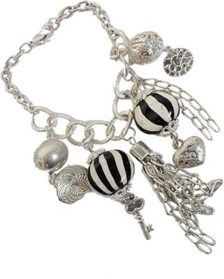 Kenway Retail Glass, Metal Silver Bracelet