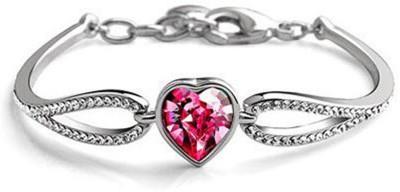 Karatcart Zinc Platinum Bracelet