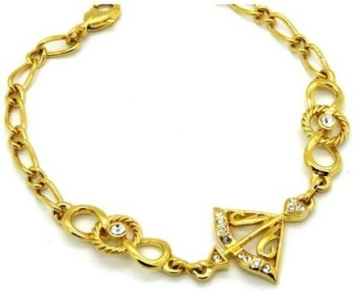 London Jewels Alloy Yellow Gold Bracelet