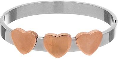 Voylla Stainless Steel Silver Bracelet at flipkart