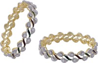 Prisha Collections Alloy Yellow Gold Bangle Set(Pack of 2) best price on Flipkart @ Rs. 735