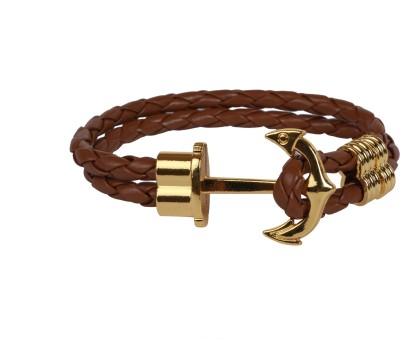 Outdazzle Leather Bracelet