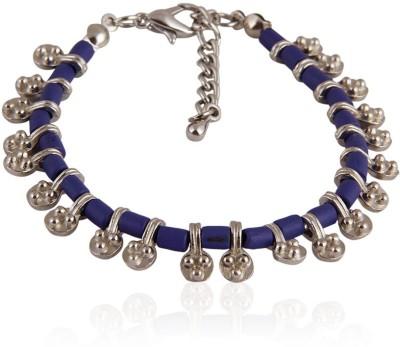 Trendy Baubles Alloy Rhodium Charm Bracelet
