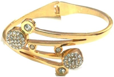 6LOTUS Brass Cubic Zirconia Yellow Gold Bracelet