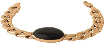 Dare for Voylla Stainless Steel Crystal Rose Gold Bracelet at flipkart