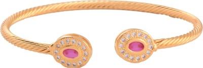 Ganapathy Gems Copper Cubic Zirconia Cuff