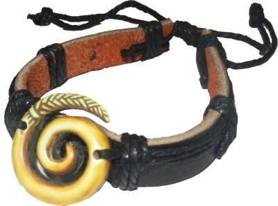 Pearls India Leather Bracelet