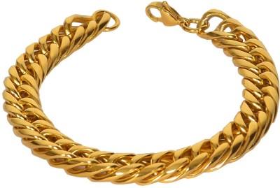 Pourni Stainless Steel Yellow Gold Bracelet