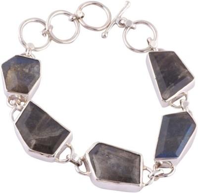 Kirti Gems Sterling Silver Moonstone Bracelet
