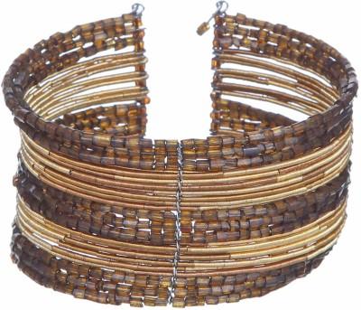 DCA Glass Yellow Gold Bracelet