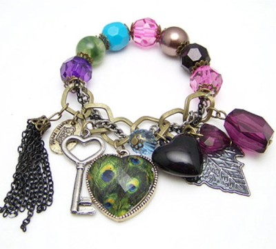Young & Forever Acrylic Charm Bracelet
