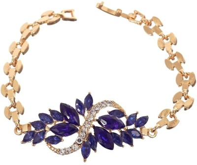 "SENECIOâ""¢ Stone, Alloy Crystal 18K Rose Gold Bracelet"