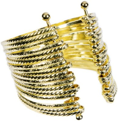Adhira Alloy Yellow Gold Cuff