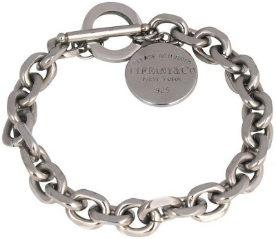 the jewelbox Stainless Steel Silver Bracelet