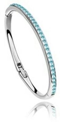 University Trendz Alloy Crystal Rhodium Bracelet at flipkart