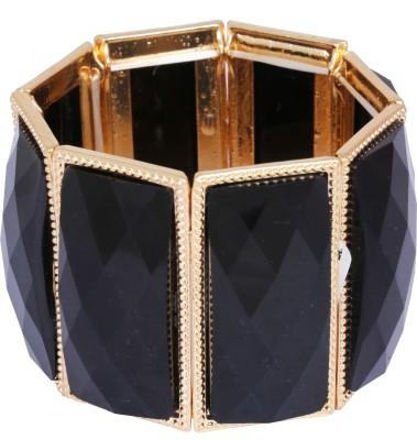 Donatella Brass Agate Brass Bracelet