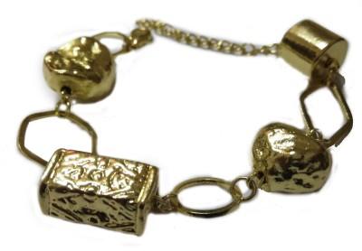 Trisha Alloy Yellow Gold Bracelet