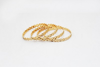 Krissa Alloy Bangle(Pack of 4)