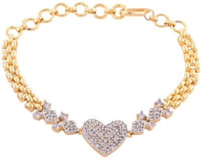 Enzy Copper Rhodium Bracelet