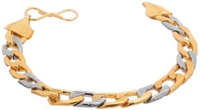 Gemshop Alloy Yellow Gold, Silver Bracelet