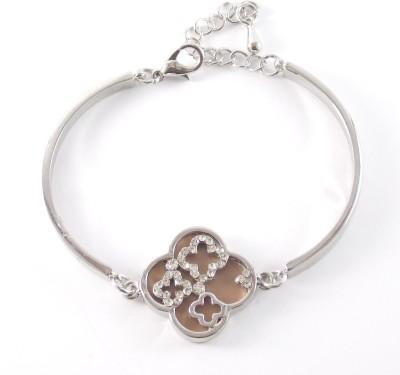 Hightrendz Alloy Silver Bracelet