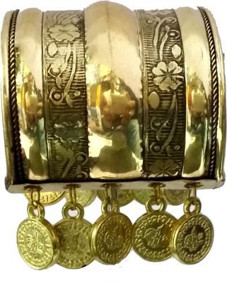 Gurjari Brass Brass Cuff