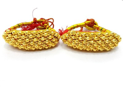 Prakash Jewellers Copper Yellow Gold Bracelet Set