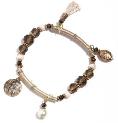 Dressberry Metal Crystal Enamel Bracelet Set