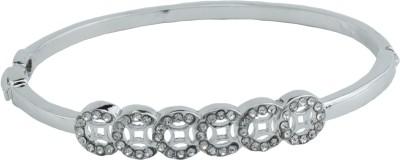 High Trendz Alloy Zircon Sterling Silver Bracelet