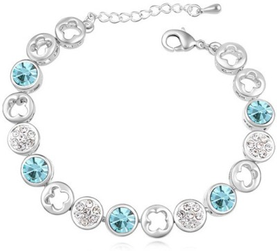 Kyra Alloy Rhodium Bracelet