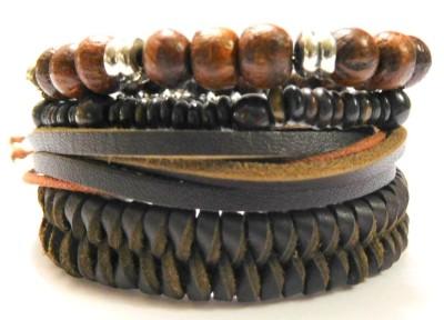 Eleganci Leather Bracelet Set