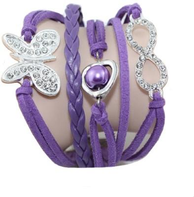 Shreya Collection Leather Bracelet